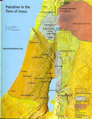 an analysis of the palestine and the jordan river and the mediterranean sea